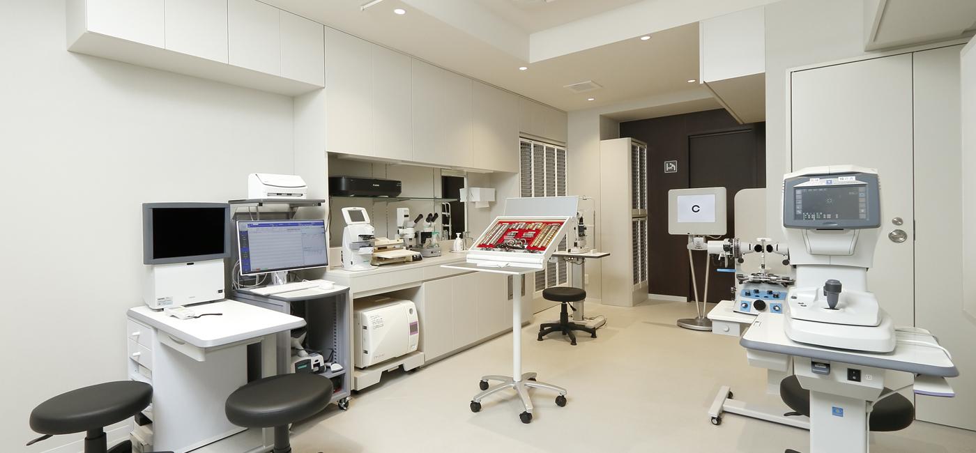 日暮里眼科クリニック 検査室